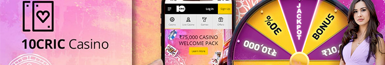 casino welcome pack with 10cric app
